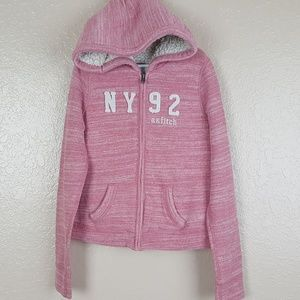 Abercrombie & Fitch Girl's Full Zip Hoodie Size S